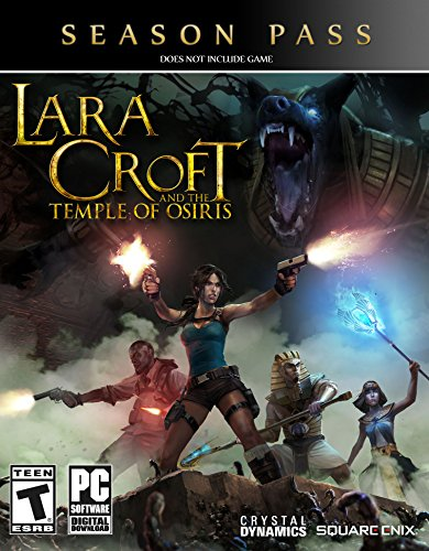 Lara Croft Tomb Raider Game Costume (Lara Croft and The Temple of Osiris Season Pass [Online Game Code])