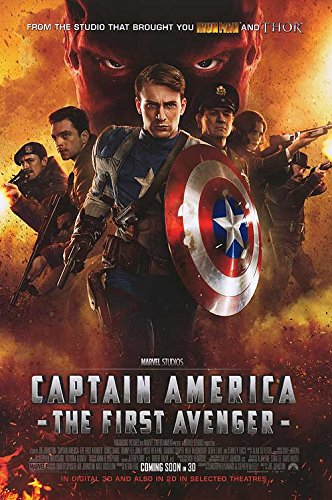 Captain America: The First Avenger - Authentic Original 27' x 40' Movie Poster
