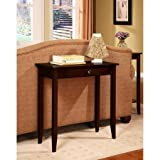 Rosewood Console Table, Coffee Brown Review