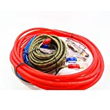 Best Accessory Power Subwoofer Cables - VIGORWORK Amplifier Speaker 6GA Car Power Subwoofer Installation Review