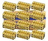 Yugioh 2019 Gold Sarcophagus Mega Tin Case of 12 Tins (36 Mega Booster Packs)
