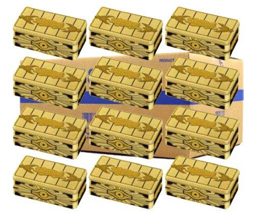 Yugioh 2019 Gold Sarcophagus Mega Tin Case of 12 Tins (36 Mega Booster Packs) -  Konami