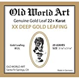 Old World Art - Genuine 22 Karat Gold Leaf