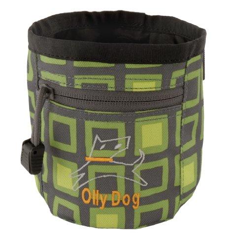 Ollydog Treats (OllyDog Treat Bag Plus, Green Squares)