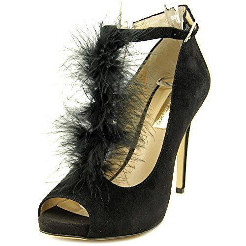 Peep Black INC Shiah Pumps Ankle Strap Toe Concepts Classic International Womens 1OvI1