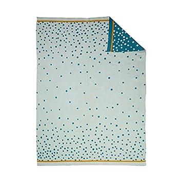 Done By Deer Happy Dots Manta color azul