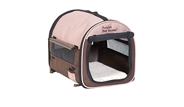 Amazon Com Petmate Portable Pet Home Small Dark Taupe Coffee Grounds Brown By Petmate Pet Supplies