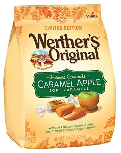 Apple Caramel Candy - Storck Werther's Original Limited Edition Harvest Apple Soft Caramels