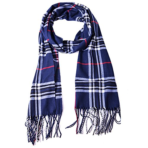 Winter Plaid Elegant Cashmere Scarf product image