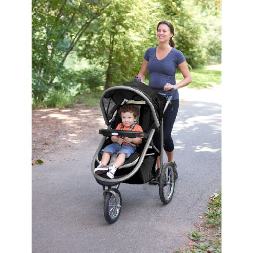 Graco FastAction Fold Jogger Click Connect Travel System, Gotham (Discontinued by Manufacturer) by Graco (Image #2)