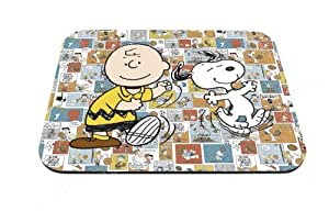 Good-will - Peanuts Charlie and Boogie Design Mouse Pad Anti-slip Mouse Pad Mat Mice Mousepad