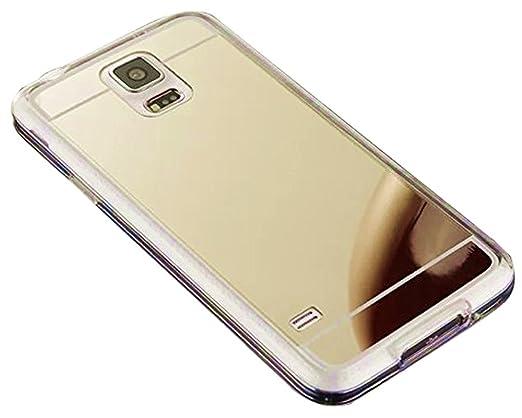 samsung galaxy s5 phone cases amazon. galaxy s5 mirror case, thin luxury hybrid glitter bling soft shiny with glass cover samsung phone cases amazon -
