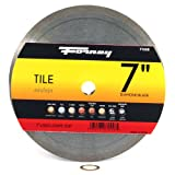Forney 71558 Diamond Tile Cutting Blade with 5/8-Inch Through 7/8-Inch Arbor, Continuous Rim, 7-Inch