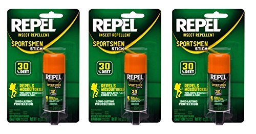 Repel 94119-1 Sportsmen Insect Repellent Stick, 1-Ounce, Pac