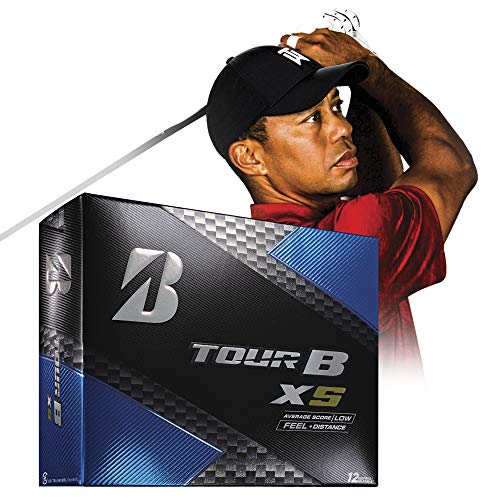 (Bridgestone Golf Tour B XS Golf Balls, White  (One Dozen) - 760778083017)