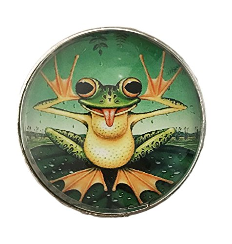 Frog Glass Knob for Dresser Drawers, Cabinet Drawers, Kit...