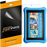 (3 Pack) Supershieldz for All New Fire HD 8 Kids Edition Tablet 8 inch (2018 and 2017 Release) Screen Protector, High Definition Clear Shield (PET) (Color: HD Clear)