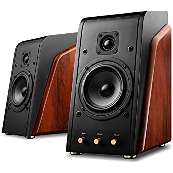 Swans - M200MKII - Powered 2.0 Bookshelf Speakers - Wooden cabinet - Powerful bass and clear treble - CES Award Winner - HiFi Speakers