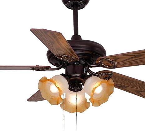 Lámpara de techo estilo Tiffany de 42 pulgadas con pantalla de ...