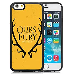 NEW DIY Unique Designed iPhone 6 4.7 Inch TPU Phone Case For Ours Is The Fury Baratheon Phone Case Cover