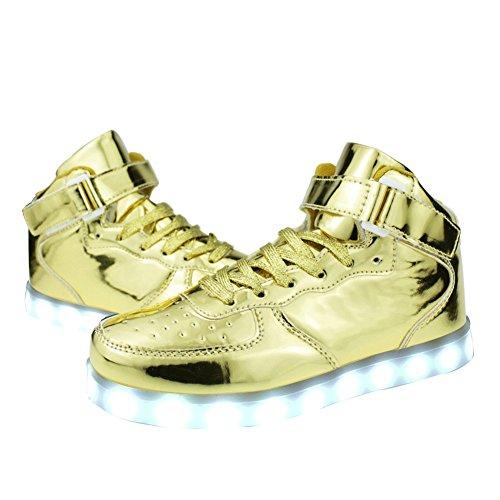 Sneaker Alta Qualità Per Uomo / Donna In Oro