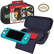 Officially Licensed Nintendo Switch Luigi's Mansion 3 Lite Carrying Case - Hard Shell Travel Case with Adj