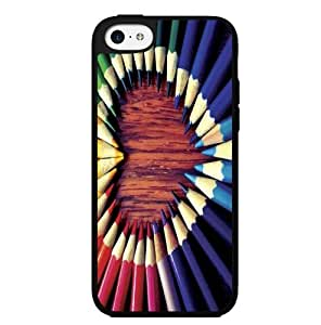 Color Pencils Heart Hard Snap on Case (iPhone 6 plus (5.5))