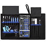 KeeKit Repair Tool Kit, 78 in 1, Magnetic Driver Kit, Professional Repair Tool with Portable Bag, Precision Screwdriver Kit with Flexible Shaft, for iPhone 7, 8 Plus/Smart Phones/Tablet