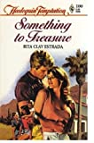img - for Something To Treasure (Harlequin Temptation, No 100) book / textbook / text book