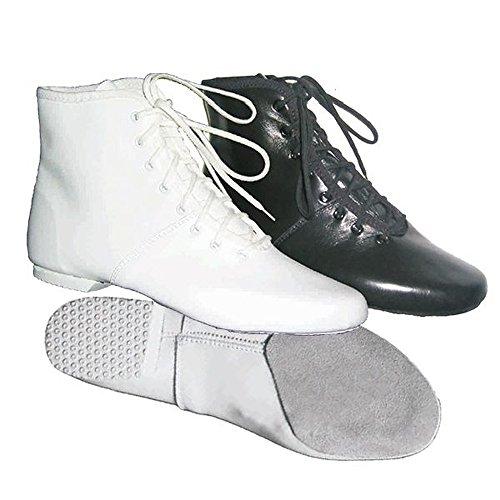 IWA-Gymnastikschuhe Tanzstiefel Gardestiefel Karnevalsstiefel IWA Modell 850-1 weiß