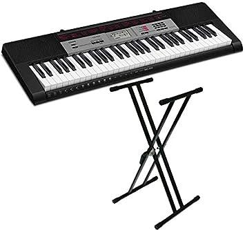 Casio Music CTK-1500Kit + Soporte Tijera Teclado Regulable RF:133 (Yamaha, Roland, Korg Etc) Audibax: Amazon.es: Electrónica