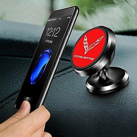 Red C7 Corvette Cling Magnetic Dash Phone Holder
