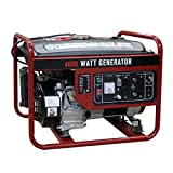 Goplus 4000 Watt Gasoline Portable Generator Gas Powered 4 Stroke 208cc Single Cylinder W/Air Cooling System EPA Approved
