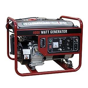 Goplus 4000 Watt Gasoline Portable Generator Gas Powered 4 Stroke 208cc Single Cylinder W/ Air Cooling System EPA Approved