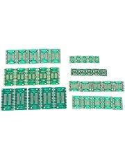 yotijar 35x PCB Board Adapter SOP TSSOP (8 10 14 16 20 24 28) SMT Converter Pin