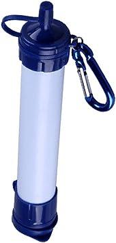 Filtro de agua portátil, popote de filtración, popote de ...