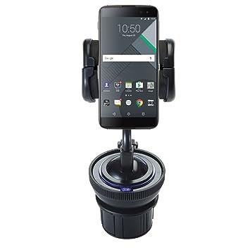 Soporte 2 En 1 Ajustable para portavasos y soporte con ventosa ajustable para parabrisas para Blackberry dtek50 protege I dispositivos de gualsiasi coche o ...