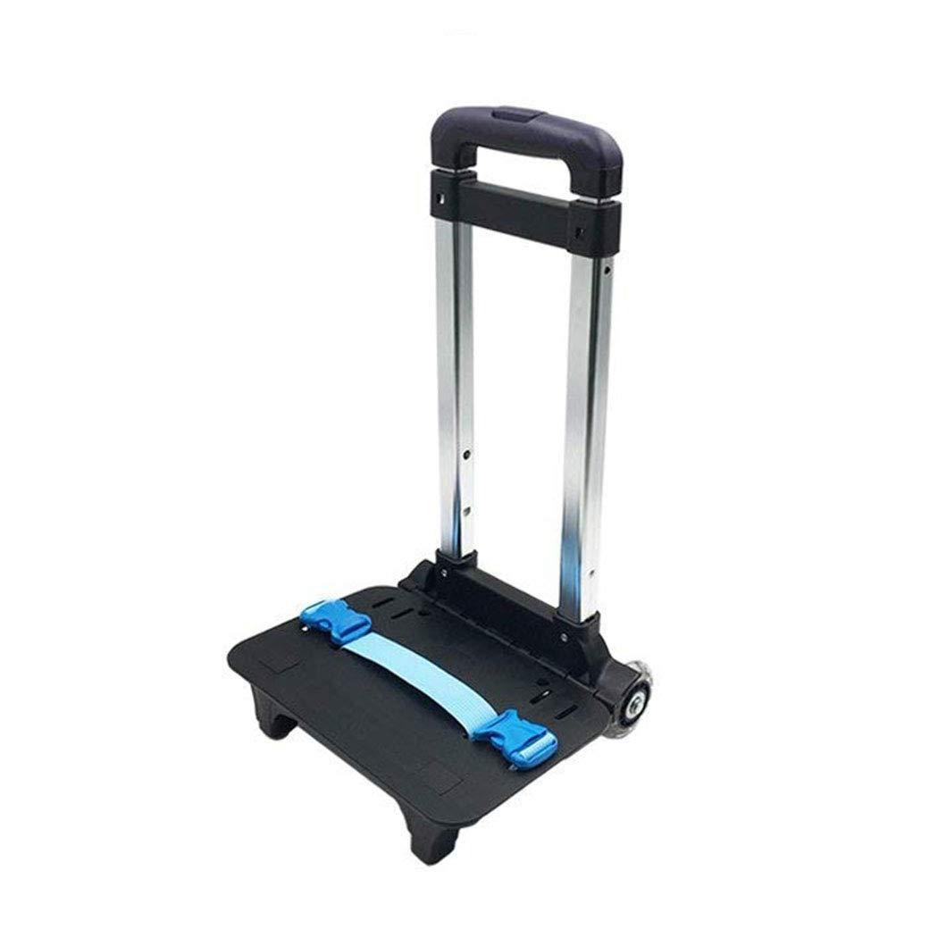 Backpack Hand Truck YUB Wheeled Cart Trolley Hand Aluminium Alloy Folding Trolley Cart for Schoolbag