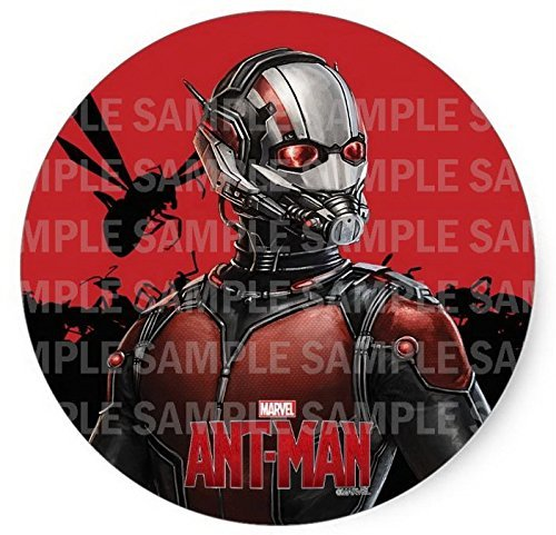 """Price comparison product image Ant-man Ant Man Birthday Edible Image Photo 8"""" Round Cake Topper Sheet Personalized Custom Customized Birthday Party"""