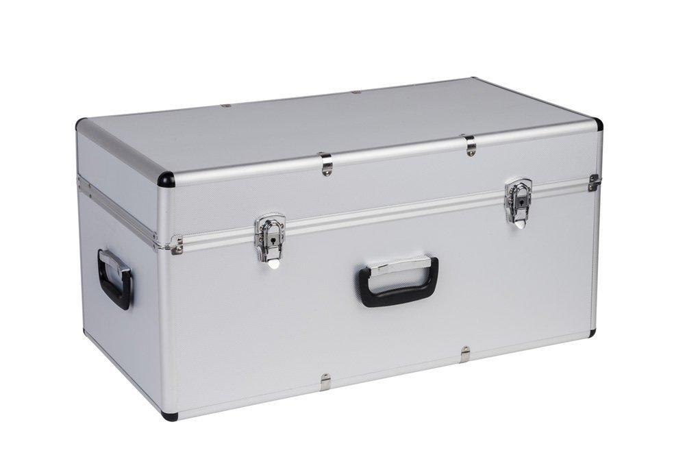 Hochwertige Transportkoffer aus Aluminium und ABS - schlagfest & ölbeständig - in verschiedenen Größen, Variante: Groß Kreher