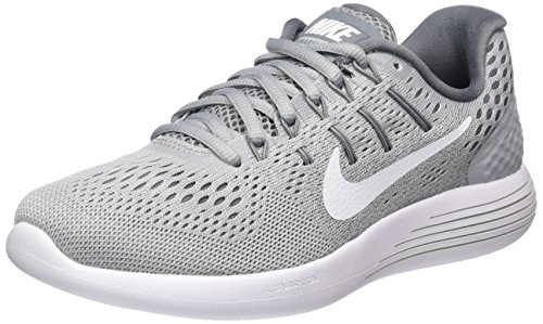 Lunarglide White Mujer cool Running Gris Grey Gris Zapatillas Grey NIKE Wmns Wolf 8 para de 5Sqx47Aw
