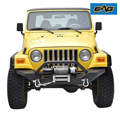 E Autogrilles 97 06 Jeep Wrangler TJ Front