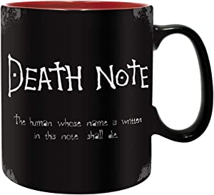 ABYstyle - Death Note Mugs (Black Apple)