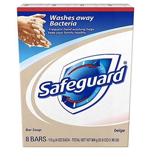 Safeguard Antibacterial Hand Bar Soap, 4 oz bars, 8 ea ( Pack of - Ea Soap Bar