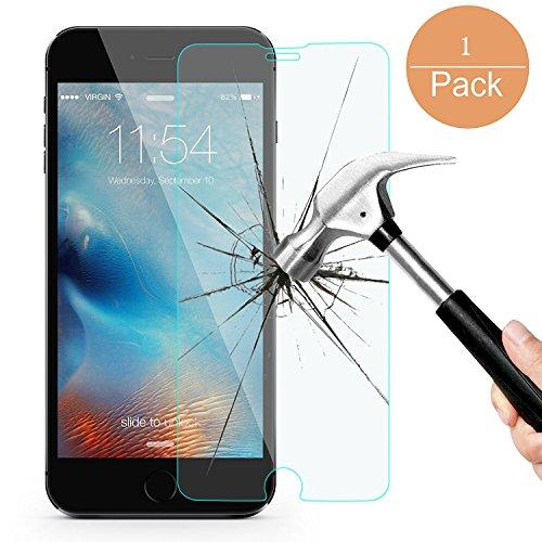 iPhone 8,7 Screen Protector 1 Pack ,Amtake 4.7 inch Tempered Glass Screen Protector for Apple iPhone 8/7