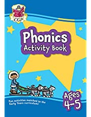 New Phonics Activity Book for Ages 4-5 (Reception): perfect for learning at home