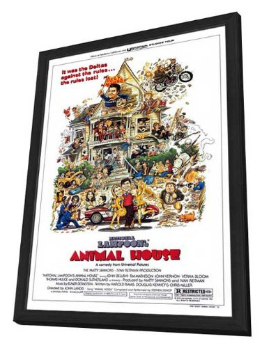 Animal House - 27 x 40 Framed Movie Poster by Movie Posters