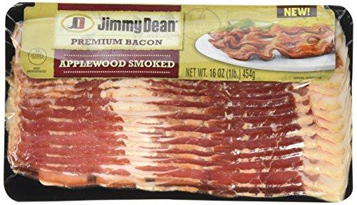 Jimmy Dean, Premium Applewood Bacon, 16 oz ()