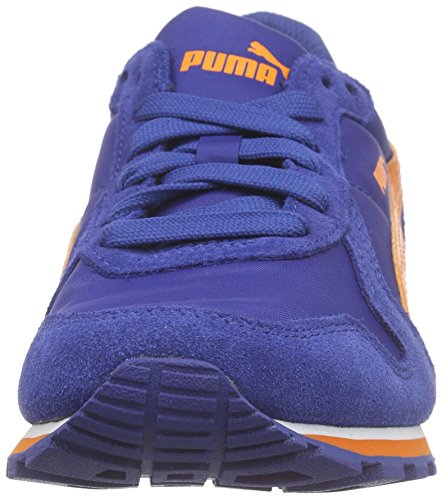 PumaSt Runner Nl - Zapatillas de Deporte Niños Azul - Blau (limoges-vibrant orange 08)