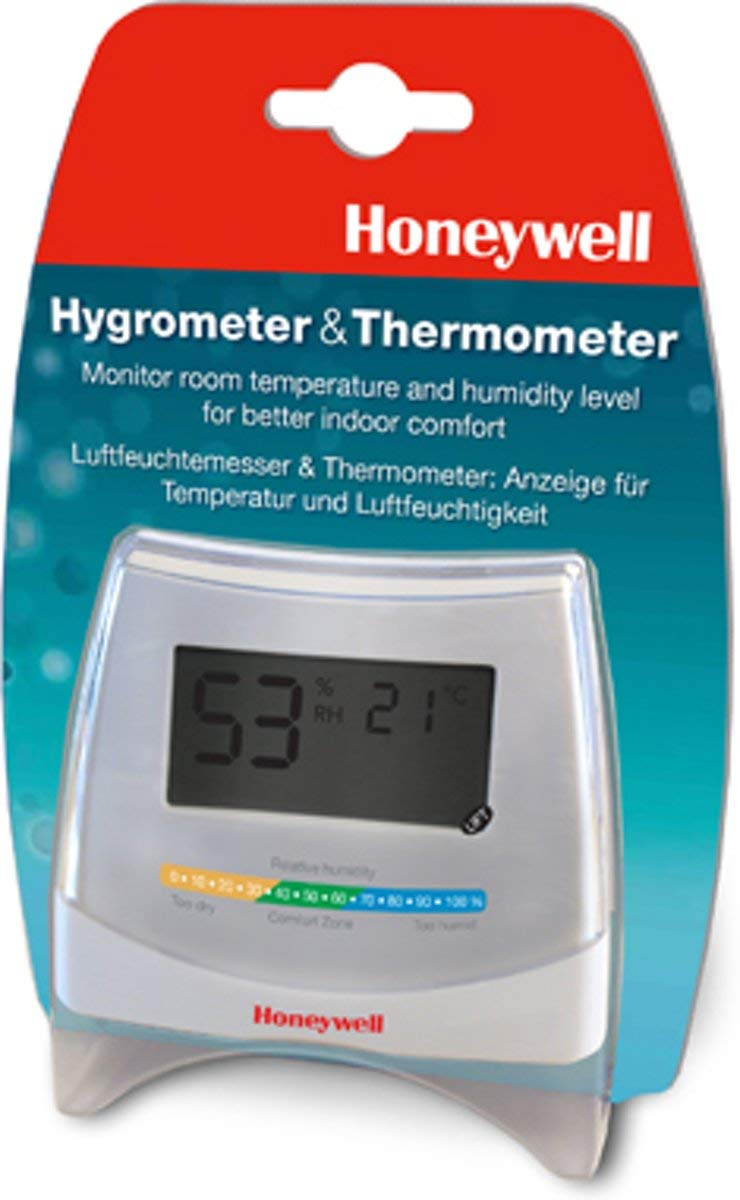 Honeywell HHY70E higr/ómetro y psic/ómetro AAA, 1,5 V, 91 mm, 29 mm, 78 mm, 60 g Hig/ómetro